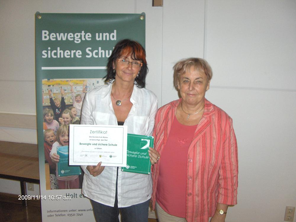 Grundschule Mylau erhält begehrtes Zertifikat