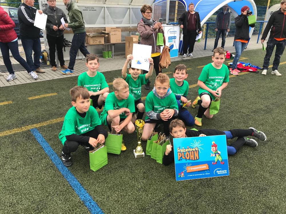 Grundschule Mylau siegt beim 10. Stadtwerke-Cup