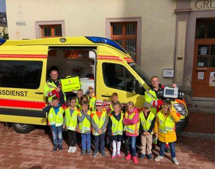 Erste Hilfe-Kurs für Kinder