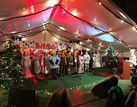 Chorprogramm Weihnachtsmarkt Reichenbach