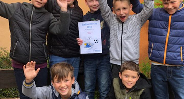 Sieg beim Stadtwerk-Cup