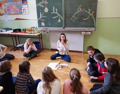 Niederländische Studentin hospitiert in unserer Schule
