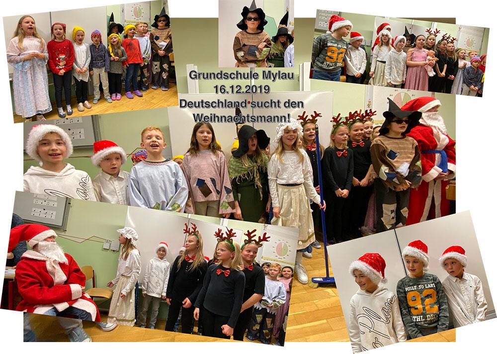Weihnachtszeit in der Grundschule Mylau